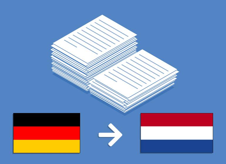 Übersetzung Deutsch > Niederländisch