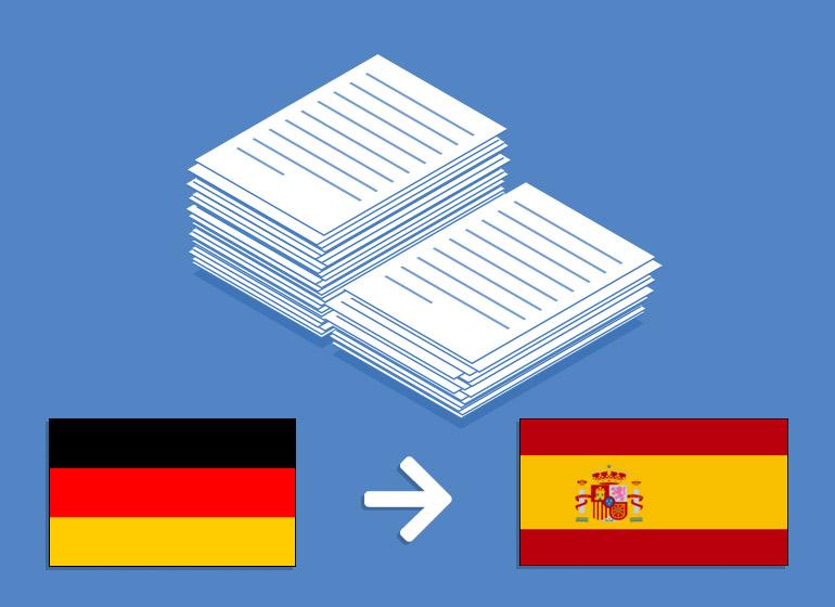 Übersetzung Deutsch > Spanisch